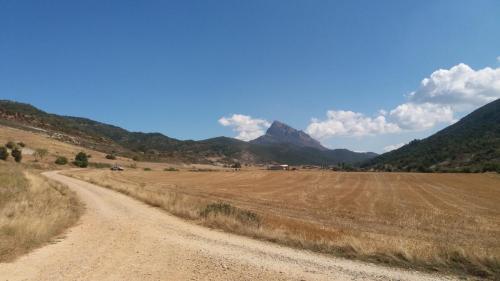 Unterwegs auf dem Camino Aragones zum Kloster