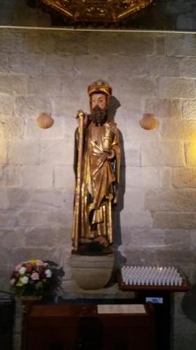 Jakobus in Puente la Reina