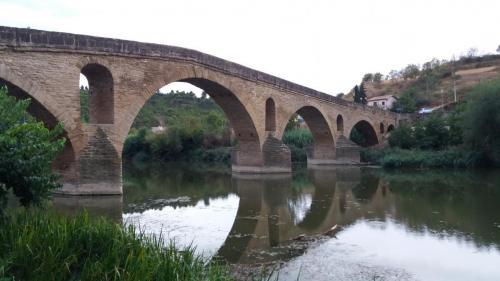 Die berühmte Brücke in Puente la Reina