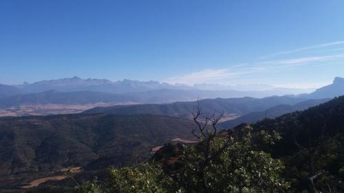 Blick von Pyrenäenbalkon