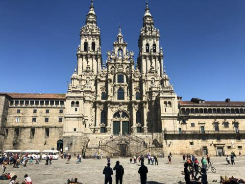 Die  Kathedrale Santiago de Compostela