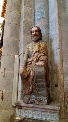 Jakobusstatue in der Kathedrale