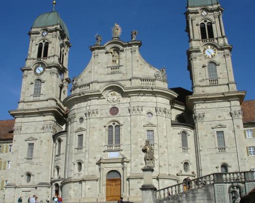 Kloster Einsiedeln - Zentralheiligtum d. Schweiz